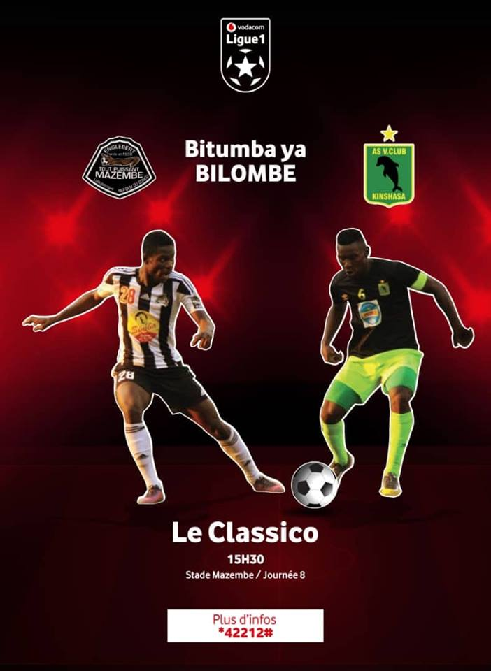 Temps fort du classico Mazembe vs Vita Club du 04/11/2018