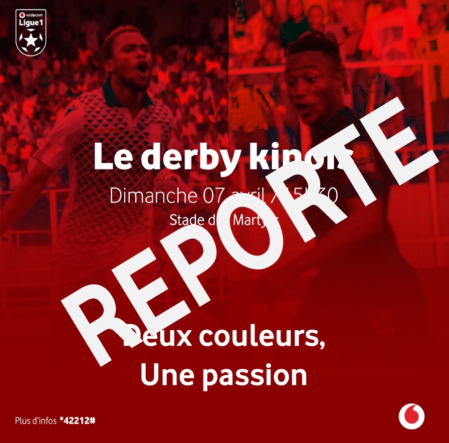 Derby Kinois Dcmp vs As Vita Club du 07/04/2019 reporté